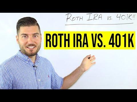 Roth IRA vs 401k (2021)