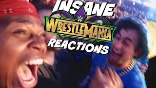 WrestleMania 34 LIVE INSANE REACTIONS + Meeting Stone Cold Steve Austin!!
