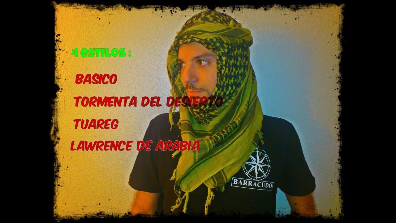 Barracudo 4 Formas De Colocar El Shemagh Youtube