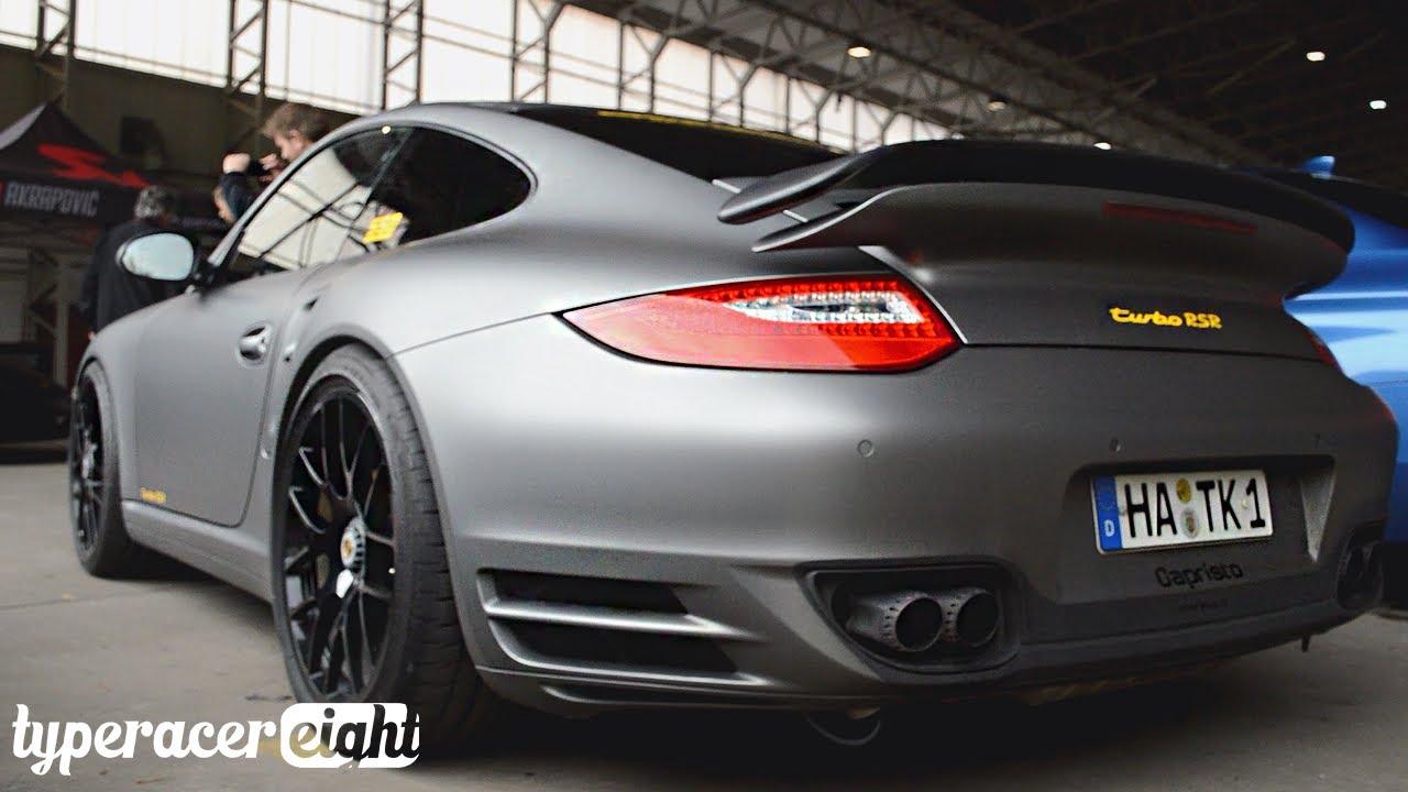 Porsche 911 T >> 660hp Porsche 997.2 Turbo RSR w/ Capristo Exhausts! Launch ...