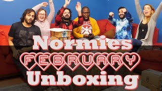 The Normies - Unboxing February 2019