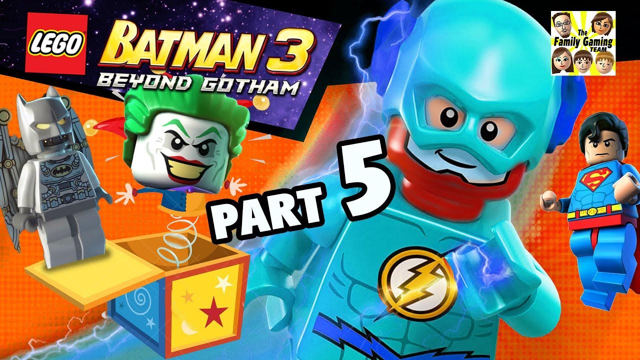 Lets Play Lego Batman 3 Joker Cyborg Amp Flash Part 5