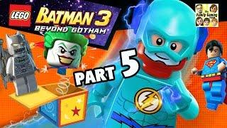 Lets Play Lego Batman 3 - Joker, Cyborg & Flash! (Part 5 BEYOND GOTHAM) Space Suits You Sir