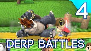 4 derp battles super smash bros u w galm and the derp crew 1080p 60fps