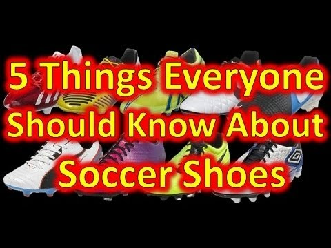 5 Things Everyone Should Know About Soccer Cleats/Football Boots