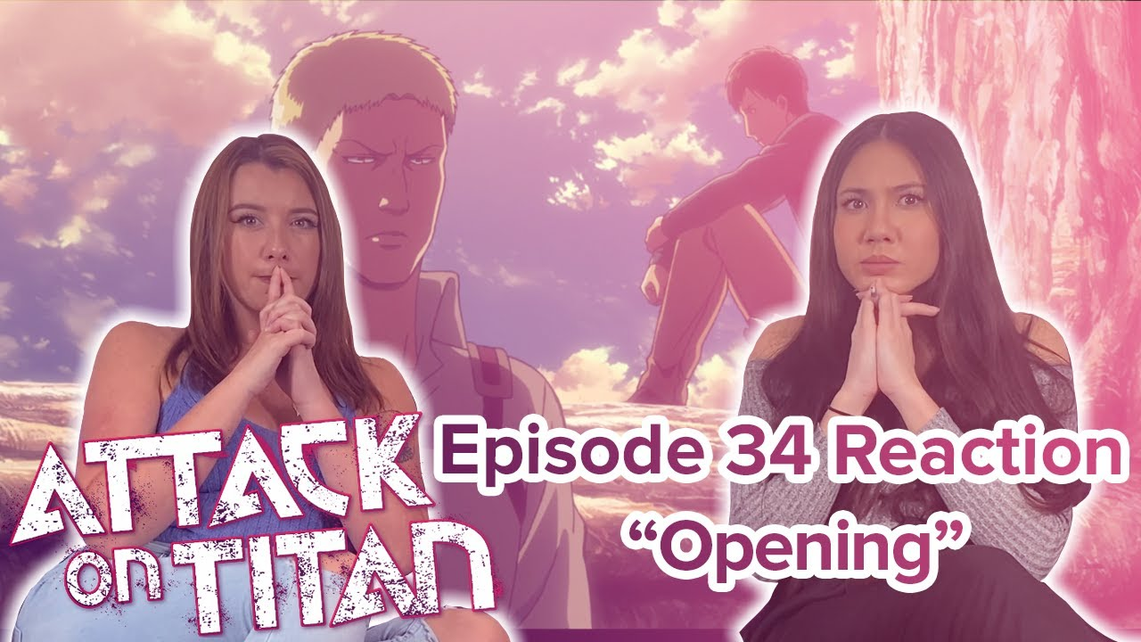 Attack on Titan - Reaction - S2E9 - Opening