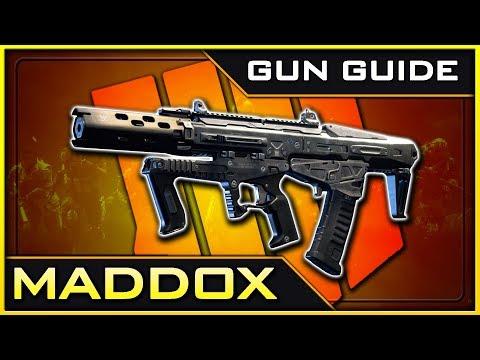Maddox RFB Stats & Best Class Setups!   Black Ops 4 Gun Guide #5