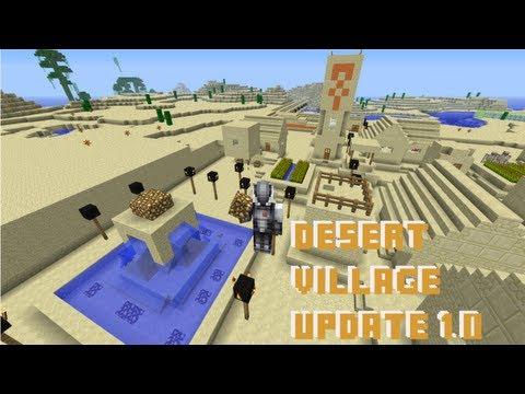 Minecraft Desert Village Update 1.0 (Let's Play World with Himynameisth0m)