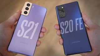 Galaxy S21 Vs S20 FE - Should You Overspend For An S21?