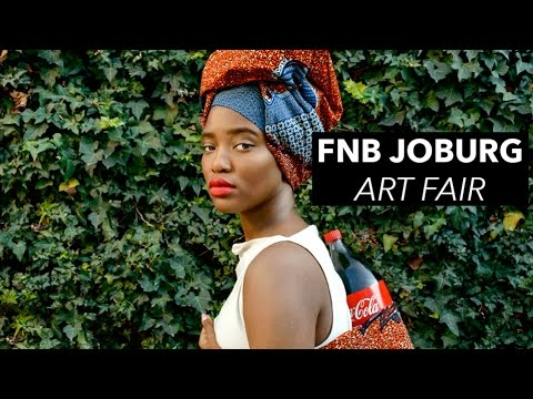 FNB JOBURG ART FAIR 2015 VLOG I THE LOCAL COLLECTIVE