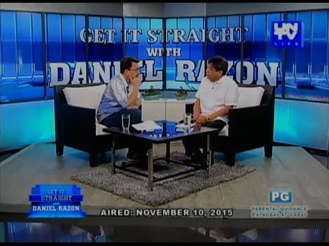 UNTV Life: Get It Straight with Daniel Razon (February 29, 2016)