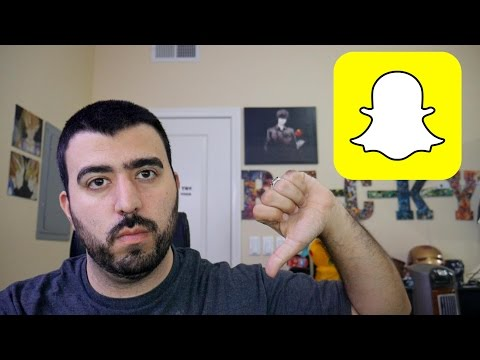 Tech Guy Rants Why Snapchat Sucks on Android - YouTube Tech Guy