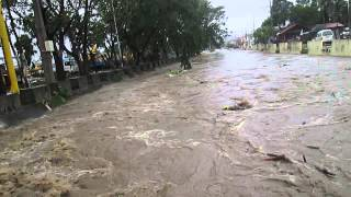 Typhoon Glenda Aftermath (Santa Rosa, Laguna, Philippines) clip 1 of 9