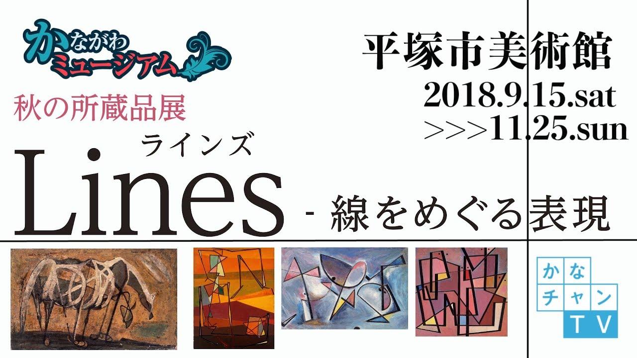 平塚市美術館 2018年秋の所蔵品展 lines 線をめぐる表現 2018 10 26