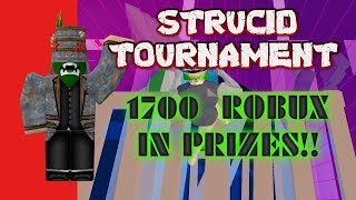 ROBLOX STRUCID 1.7k TOURNAMENT LIVE! YOU CAN PLAY!