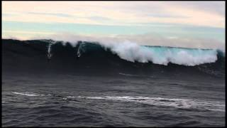 Greg Long at Cortes 1 - Ride of the Year Entry - Billabong XXL Big Wave Awards 2013