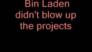Immortal Technique - Bin laden Lyrics On Screen