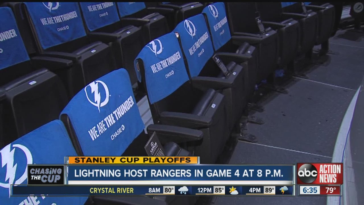 be7da19baaf Wear Tampa Bay Lightning colors to the Stanley Cup Playoffs at Amalie Arena