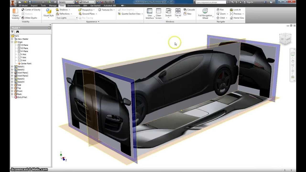 Autodesk inventor basic car modeling part 1 youtube malvernweather Images