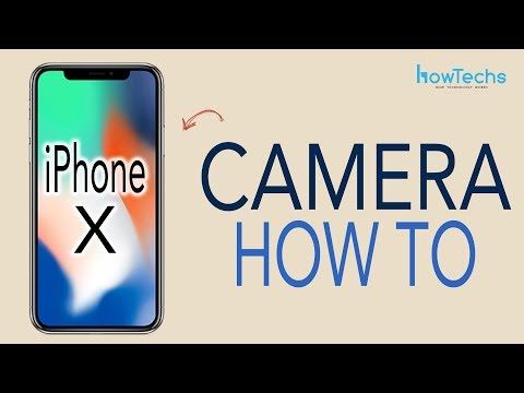 iPhone X - How to use the Camera