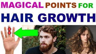 Sujok Therapy For Hair Growth/Acupressure For Hair Regain/Acupressure Points For Hair Growth  Hindi
