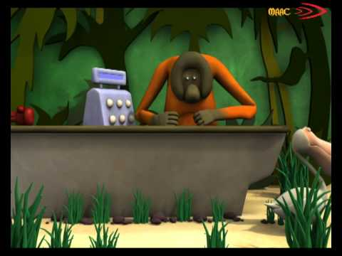 The Animals Save the Planet 3D animated