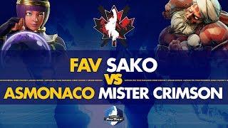 FAV Sako (Menat) VS ASMonaco Mister Crimson (Dhalsim) - Canada Cup 2019 Pools - CPT 2019