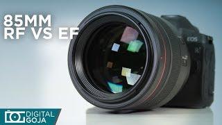 New Canon RF 85mm f/1.2L USM Lens | RF vs. EF 85mm