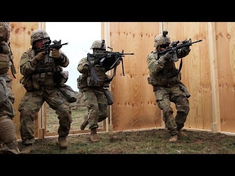 Soldiers Live-Fire In Poland