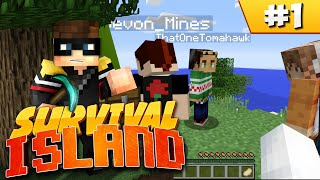 Minecraft Survival Island (Ultra Hardcore): EP1 - Stranded Thumbnail