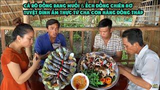 Hai Cha Con Vào Bếp • Bữa Cơm Toàn Đặc Sản Miền Sông Nước    Bông Lúa Đồng Tháp