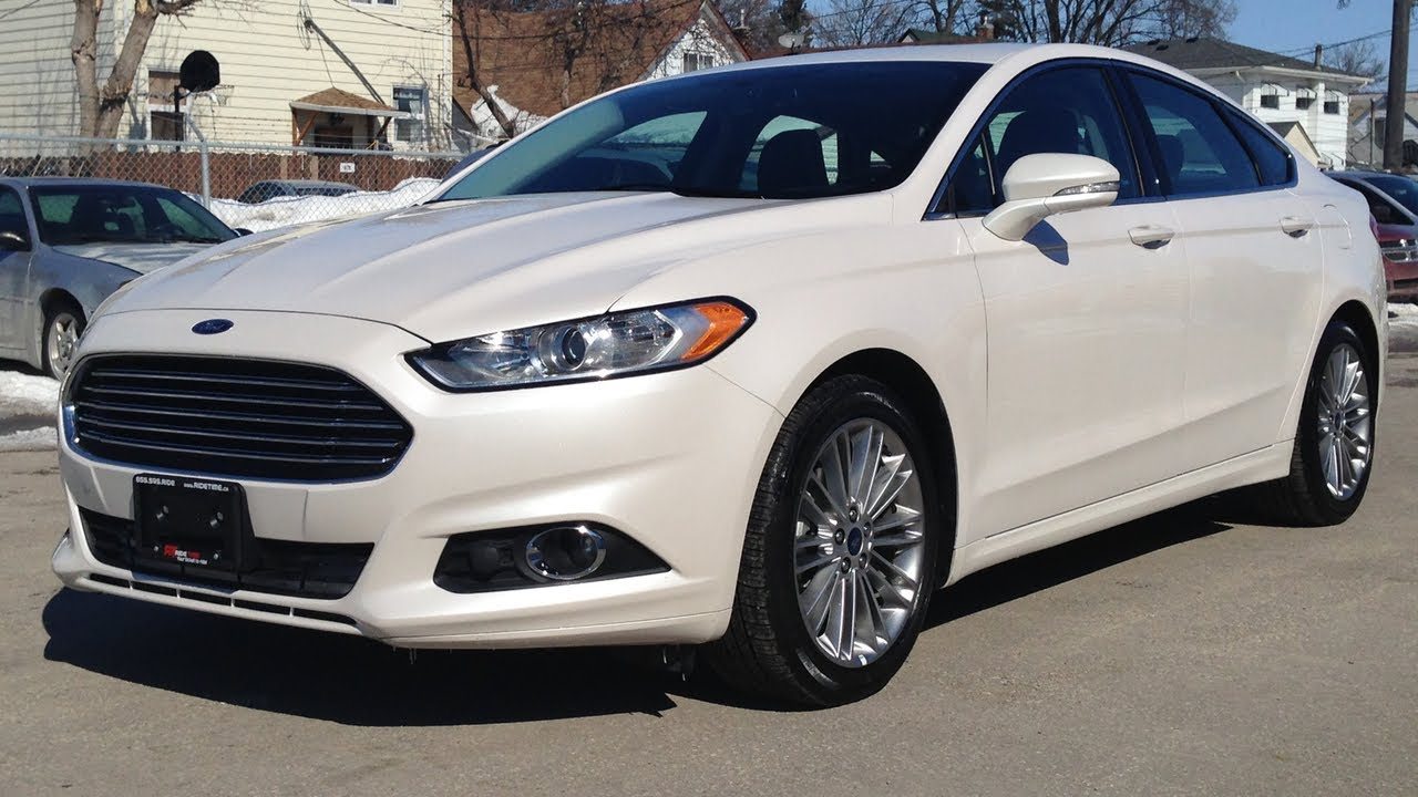 2013 ford fusion se luxury tech for sale in winnipeg mb. Black Bedroom Furniture Sets. Home Design Ideas