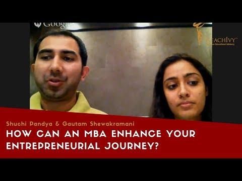 Entrepreneurship panel - MBA - Shuchi Pandya & Gautam Shewakramani | ReachIvy
