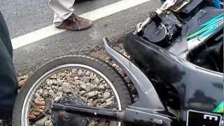 Kecelakaan 2 motor tragis Indramayu