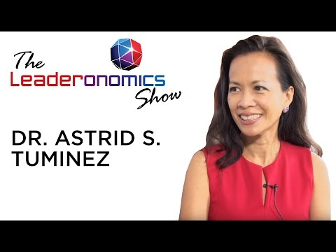 Dr. Astrid S. Tuminez, Regional Director (SEA)  on the Leaderonomics Show