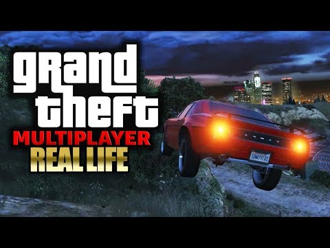 Er leiht uns sein Auto 🎮 GTA 5: REAL LIFE (Roleplay) #009