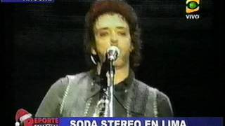 Soda Stereo - reportajes del show en Lima (8-12-2007)