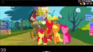 osu! - Sim Gretina - Apples To The Core (Remix) [DT][S][Insane][195pp]