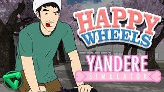 Happy Wheels: YANDERE SIMULATOR | iTownGamePlay