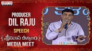 Producer Dil Raju Emotional Speech About Srinivasa Kalyanam Movie || Nithiin, Raashi Khanna