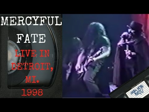 Mercyful Fate Live in Detroit MI August 22 1998 FULL CONCERT