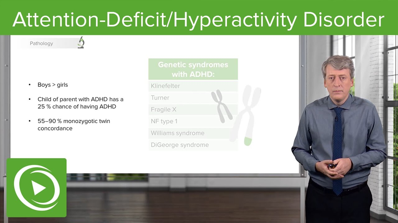 Attention-Deficit/Hyperactivity Disorder (ADHD) – Pediatrics | Lecturio