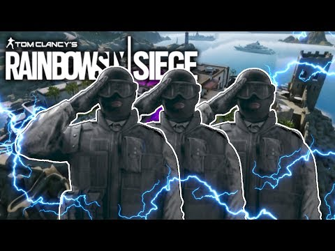 Recruit Party in Rainbow Six Siege