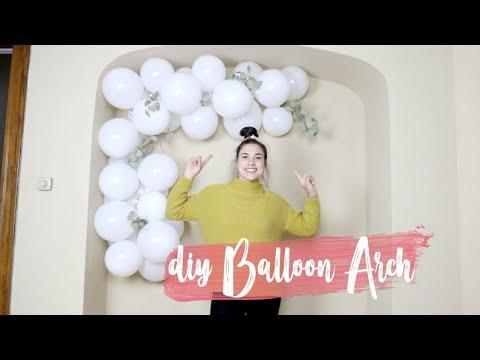 DIY Balloon Arch (Super Easy Hack!)