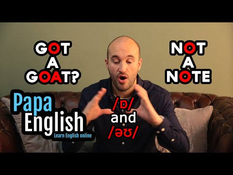 English Pronunciation: Oh and O