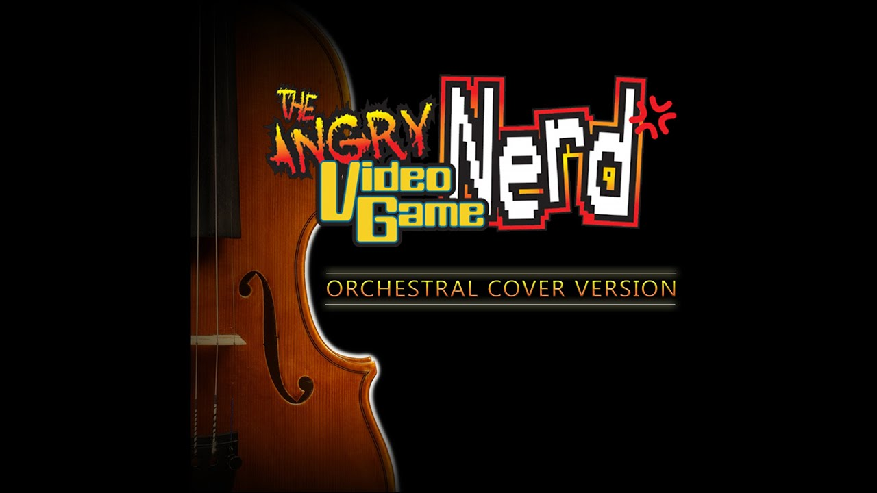 The Angry Video Game Nerd Theme Song with lyrics - YouTube