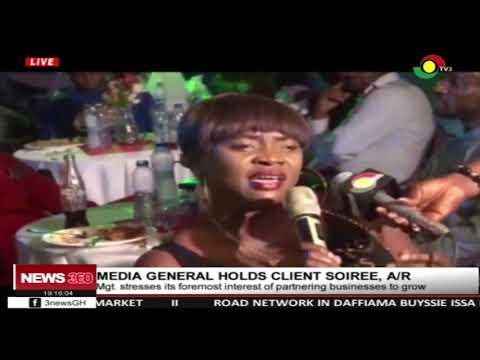 Media General holds client soiree in Ashanti region