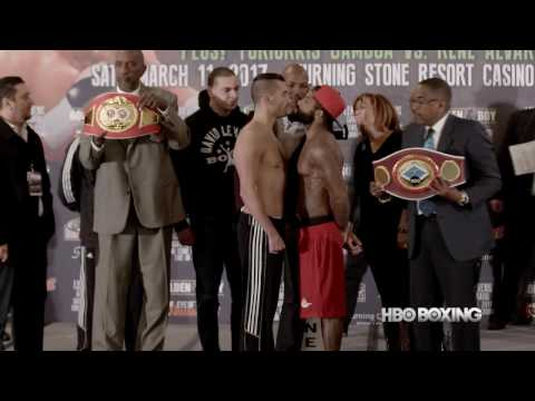 HBO Boxing News: Lemieux vs. Stevens Weigh-In Recap (HBO Boxing)