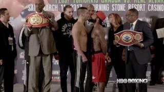 HBO Boxing News: Lemieux vs. Stevens Weigh-In Recap (HBO Boxing)
