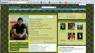 View Photos in private profile on friendster 2009